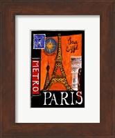 Metro, Paris Fine Art Print