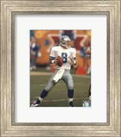 Troy Aikman Action Fine Art Print