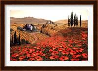 Hills Of Tuscany II Fine Art Print