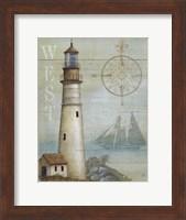 West Coastal Light Fine Art Print