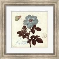 Touch of Blue II- Faith Fine Art Print