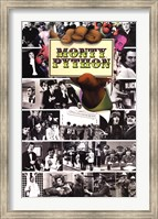 Monty Python - Flying Circus Mosaic Wall Poster