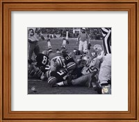 Bart Starr 1967 Ice Bowl Touchdown Fine Art Print