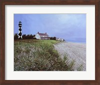 Lookout On The Shore Fine Art Print