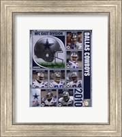 2010 Dallas Cowboys Team Composite Fine Art Print
