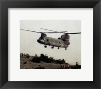 CH-47 Chinook United States Army Fine Art Print
