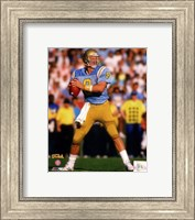 Troy Aikman Bruins 1988  Football Action Fine Art Print