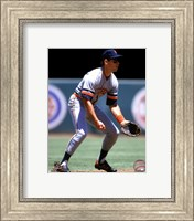 Alan Trammell 1990 Action Fine Art Print
