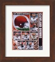 2010 Cleveland Browns Team Composite Fine Art Print