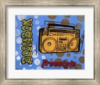 Boom Box Fine Art Print