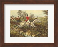 The English Hunt I Fine Art Print