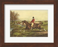 The English Hunt II Fine Art Print