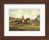 The English Hunt V Fine Art Print