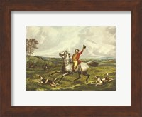 The English Hunt VI Fine Art Print