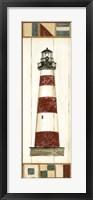 Americana Lighthouse I Fine Art Print