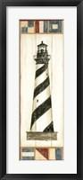 Americana Lighthouse II Fine Art Print