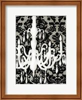 Small Patterned Chandelier II (P) Fine Art Print
