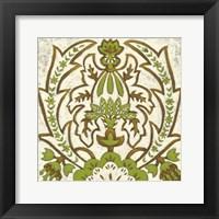 Small Lotus Tapestry II Fine Art Print