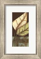 Small Palm Leaf Arabesque II (P) Fine Art Print