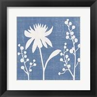 Small Blue Linen I (P) Fine Art Print