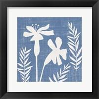 Small Blue Linen II (P) Fine Art Print