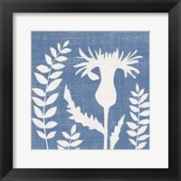 Small Blue Linen III (P) Fine Art Print