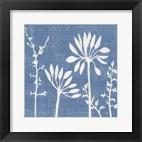 Small Blue Linen IV (P) Fine Art Print