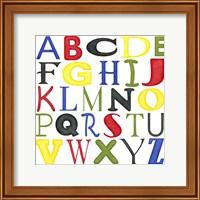 Kid's Room Letters Fine Art Print
