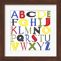 Kid's Room Letters Fine Art Print