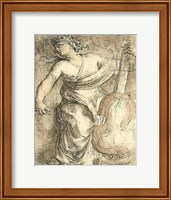 The Muse Erato Fine Art Print