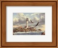 Boston Lighthouse Fine Art Print