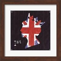 Queen Union Jack Fine Art Print