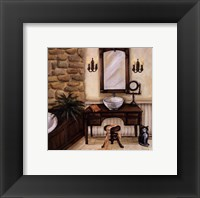 Fireplace Escape II Fine Art Print