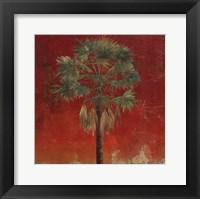 La Palma on Red IV Fine Art Print