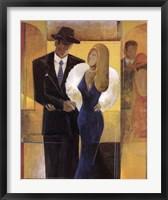 The Town Couple Fine Art Print