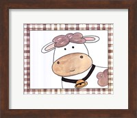 Here's Looking at You - Cow Fine Art Print