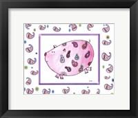 Paisley Pig Fine Art Print