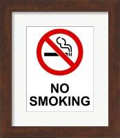 No Smoking - Small Fine Art Print
