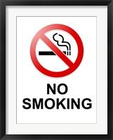 No Smoking Fine Art Print