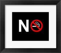 No Smoking - NO SIGN (Small) Fine Art Print