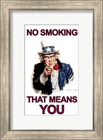 NO Smoking - That Means YOU Fine Art Print