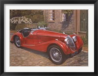 Riley Red Roadster Fine Art Print