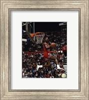 Michael Jordan 1987 Slam Dunk Contest Fine Art Print