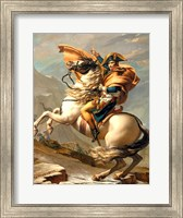 Napoleon (1769-1821) Crossing the Alps at the St Bernard Pass Fine Art Print