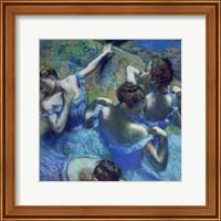 Blue Dancers, c.1899 Fine Art Print