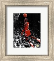 Michael Jordan 1990 Spotlight Action Fine Art Print