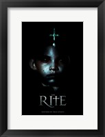The Rite - little face Wall Poster