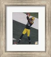 Greg Jennings Touchdown from Super Bowl XLV Fine Art Print