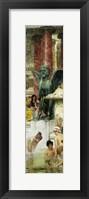 In the Roman Baths, or Roman Women In The Bath, 1876 Fine Art Print