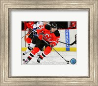 Brian Rolston Passing Hockey Puck Fine Art Print